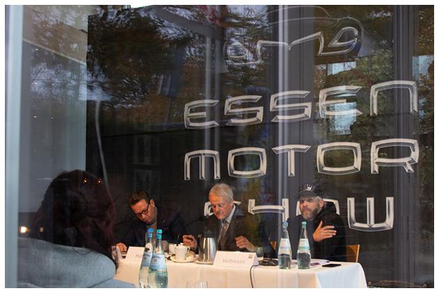 Essen Motor Show 2019 Pressekonferenz Foto: Anna Köster-Nowaczyk