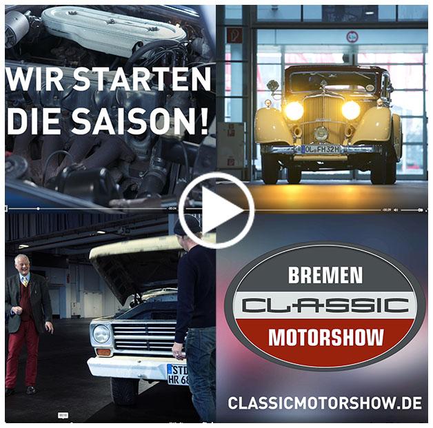 Offizieller Video-Trailer zur Bremen Classic Motorshow 2021